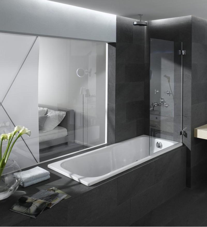 cada de baie saniform plus 1500 700. Black Bedroom Furniture Sets. Home Design Ideas
